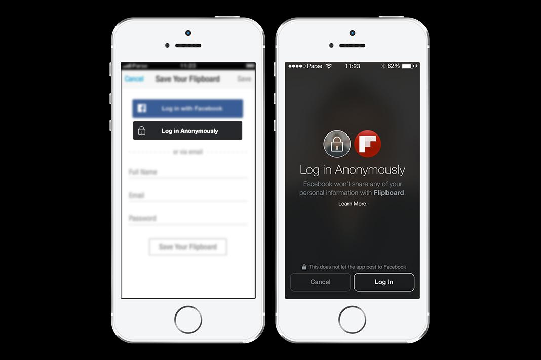 how to join facebook anonymously