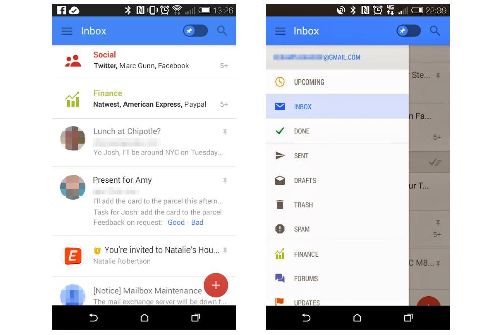 Google testing new Gmail features for improved mobile ...