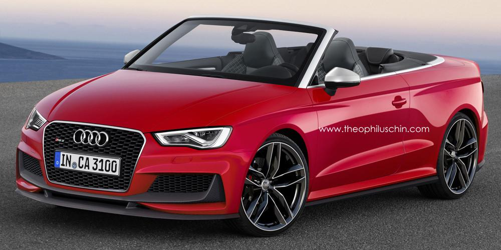 Audi Rs3 Cabriolet Rendered Digital Trends