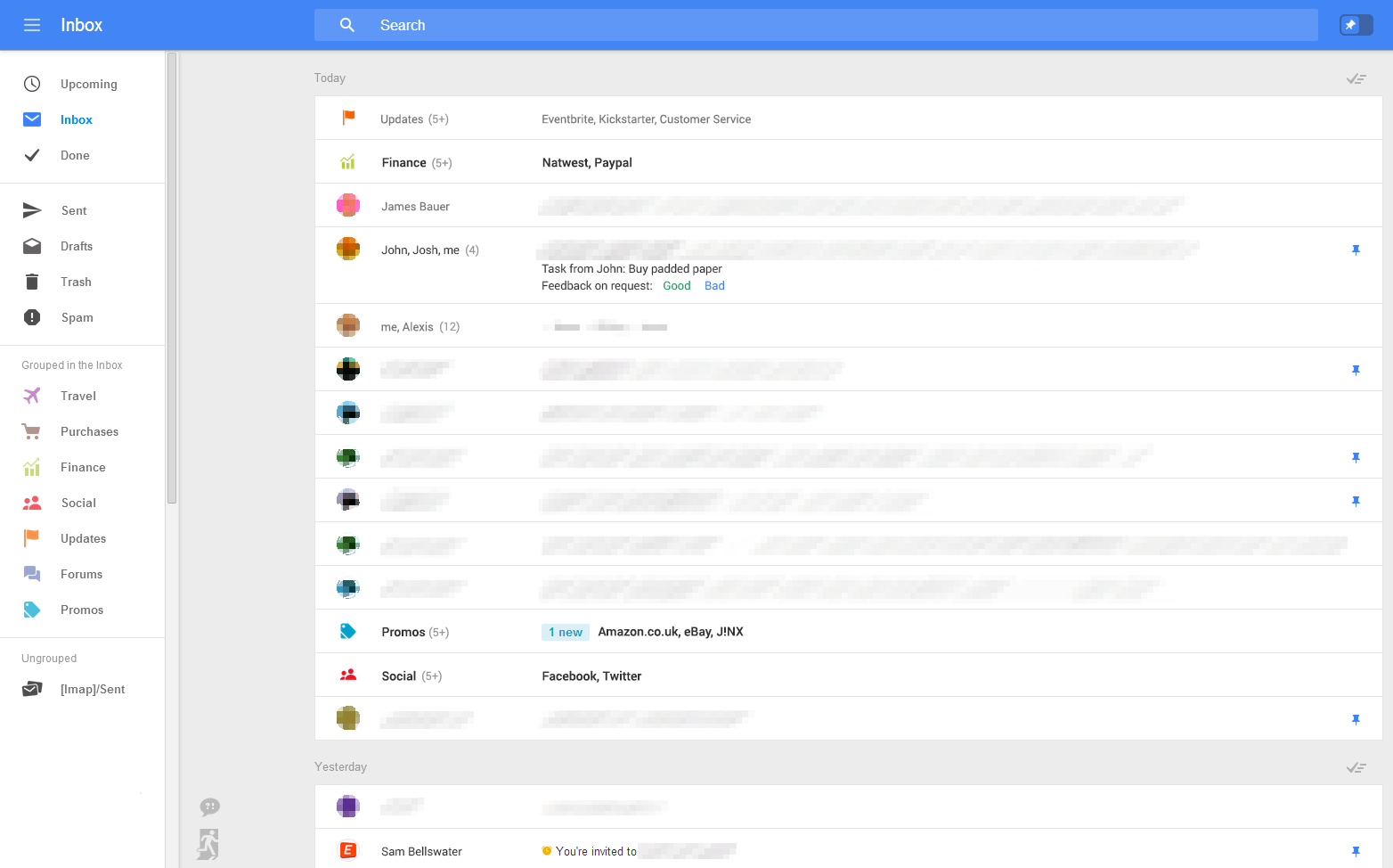 Google is testing a complete redesign of Web-based Gmail ...