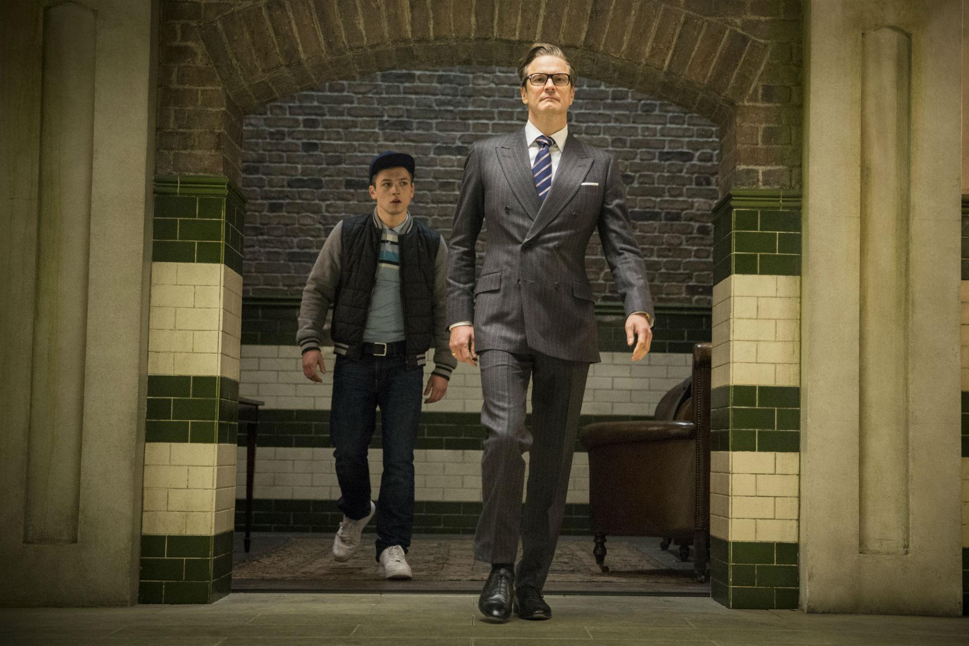 First trailer for kingsman the secret service gives the world a new