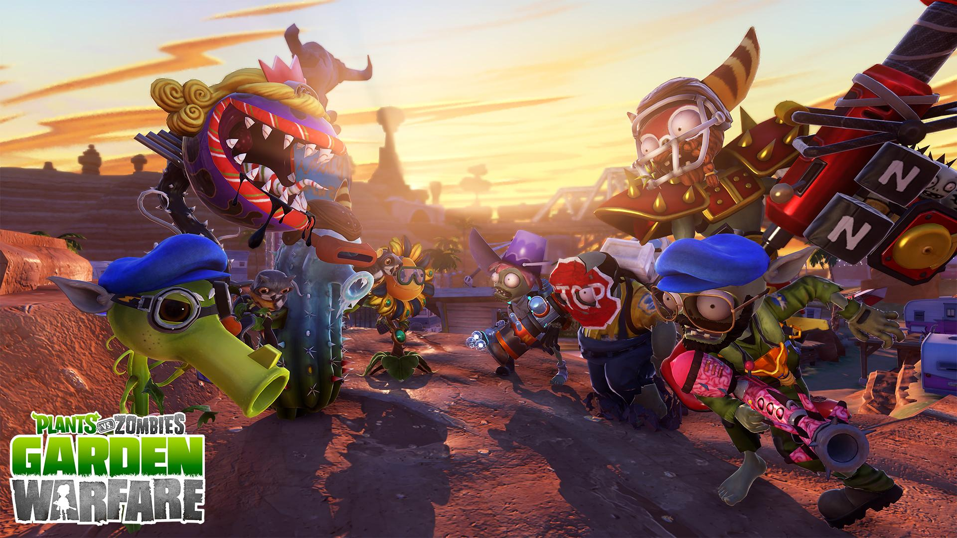 Plants Vs Zombies Garden Warfare Comes To Playstation In