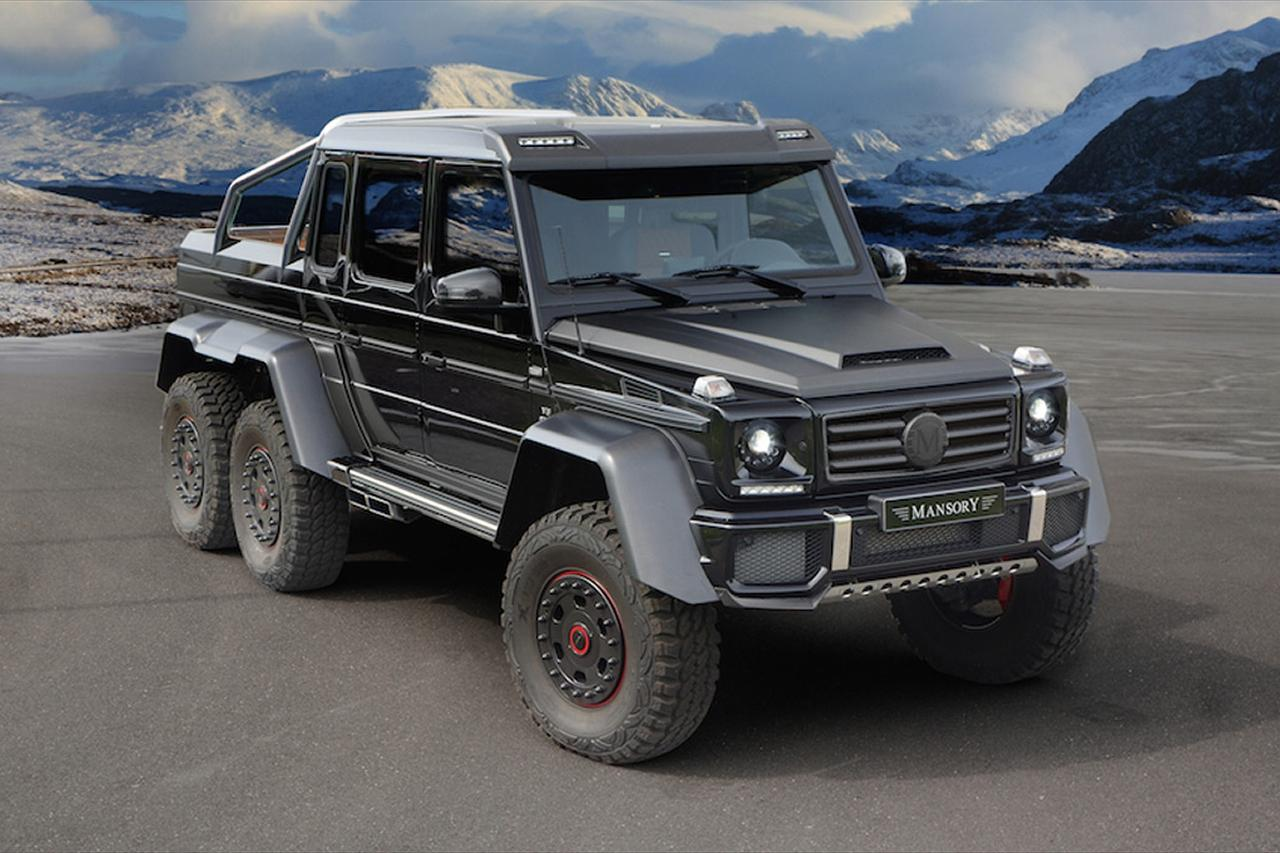 mansory mercedes benz g63 amg 6x6 boasts 828 hp digital trends. Black Bedroom Furniture Sets. Home Design Ideas
