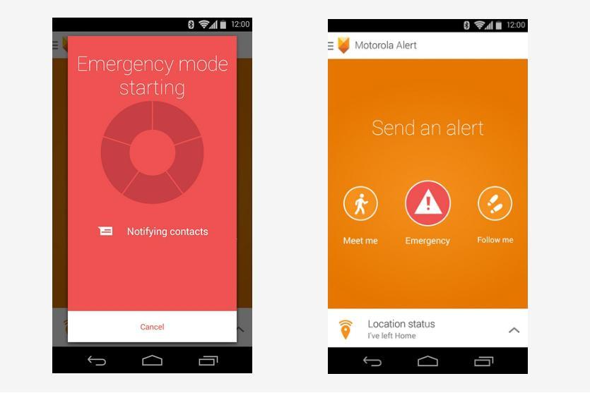 Red alerts emergency app