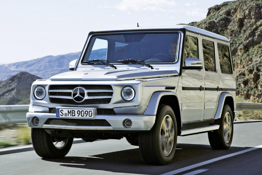 Mereceds benz g class to be redesigned for 2016 digital for Mercedes benz g class 2014 price