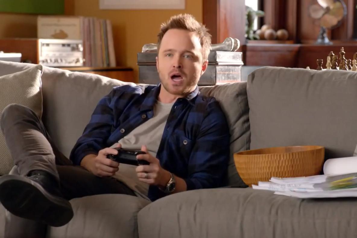 Aaron Paul xbox turn on