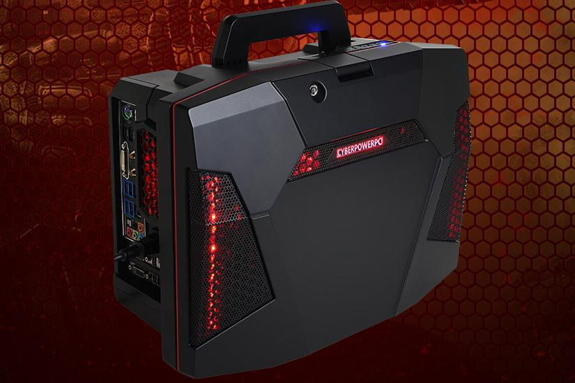 cyberpower releases fang battlebox portable gaming pc starts at 619 digital trends. Black Bedroom Furniture Sets. Home Design Ideas