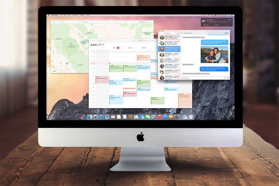 Forget Windows Mac Os X Yosemite Is The Update Desktop