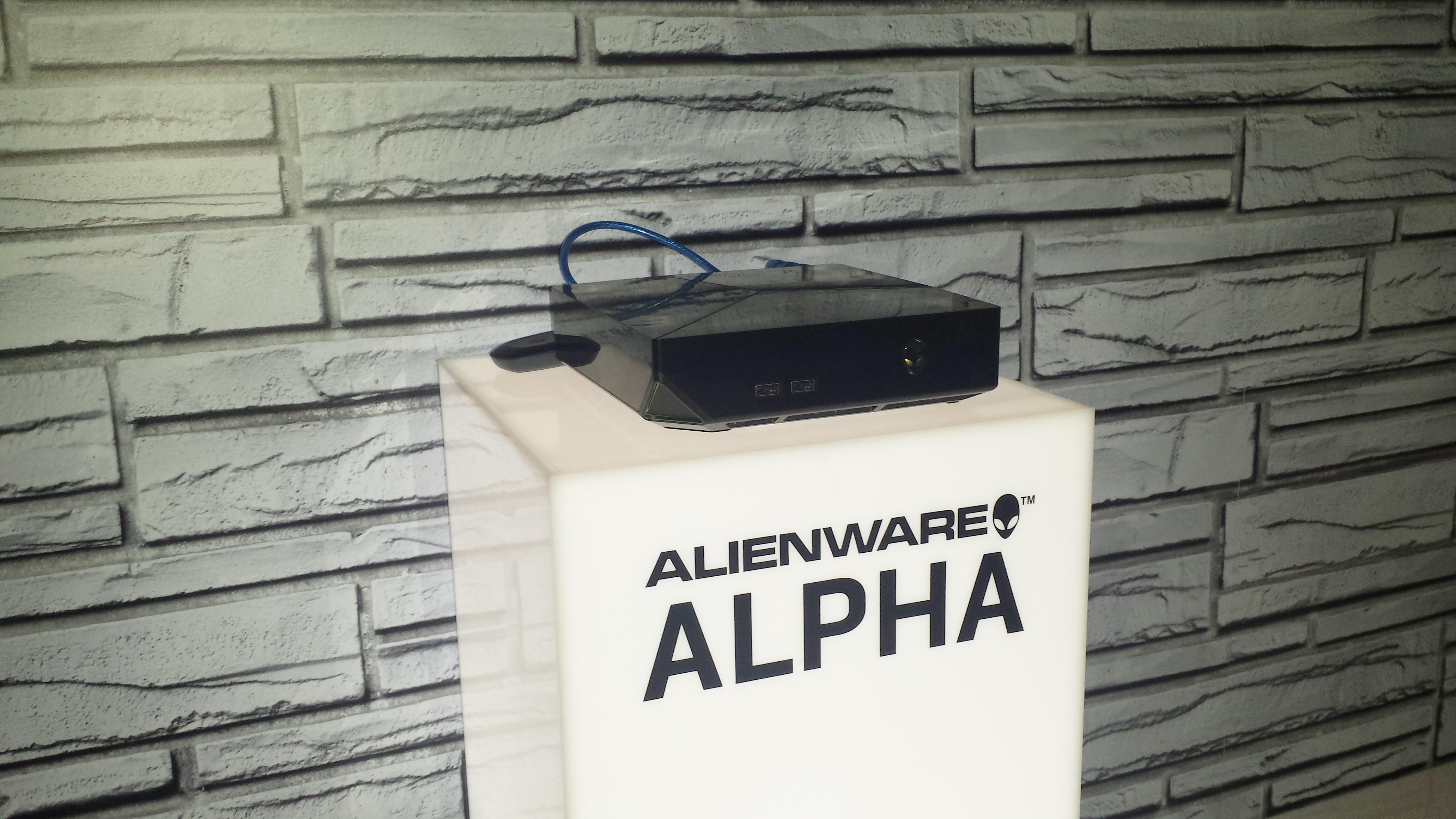 alienware alpha e3 show floor