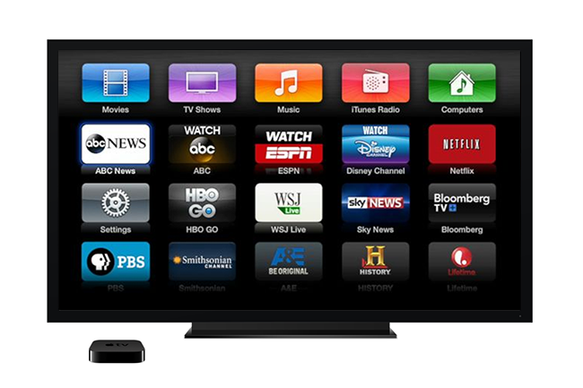 Apple tv adds free ad based channels abc news aol on and pbs kids digital trends Home tv channel