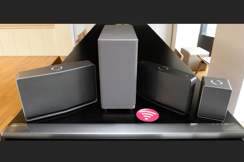 LG unveils new Music Flow hi-res multi-room speakers ...