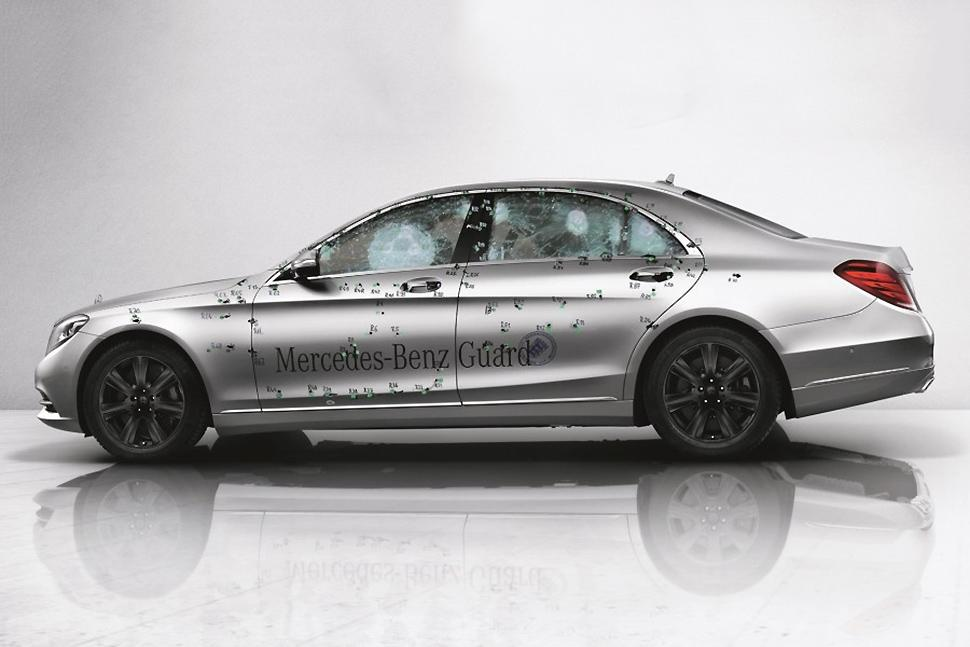 Mercedes benz s600 guard armored car enters production for Mercedes benz guard for sale