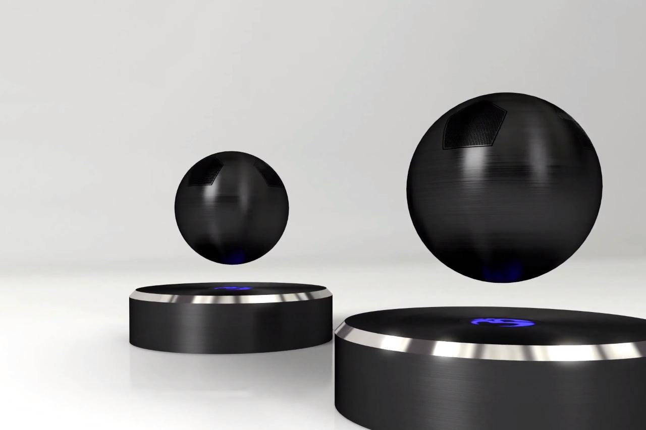 OM Audio Launches Levitating Bluetooth Speaker Campaign Digital Trends