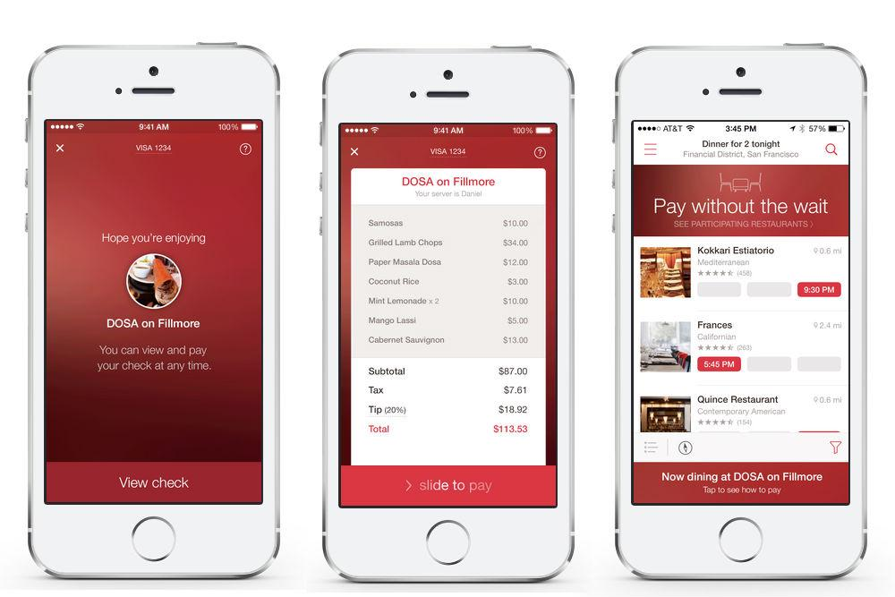 Opentable adds mobile payments to nyc restaurants for 0pen table