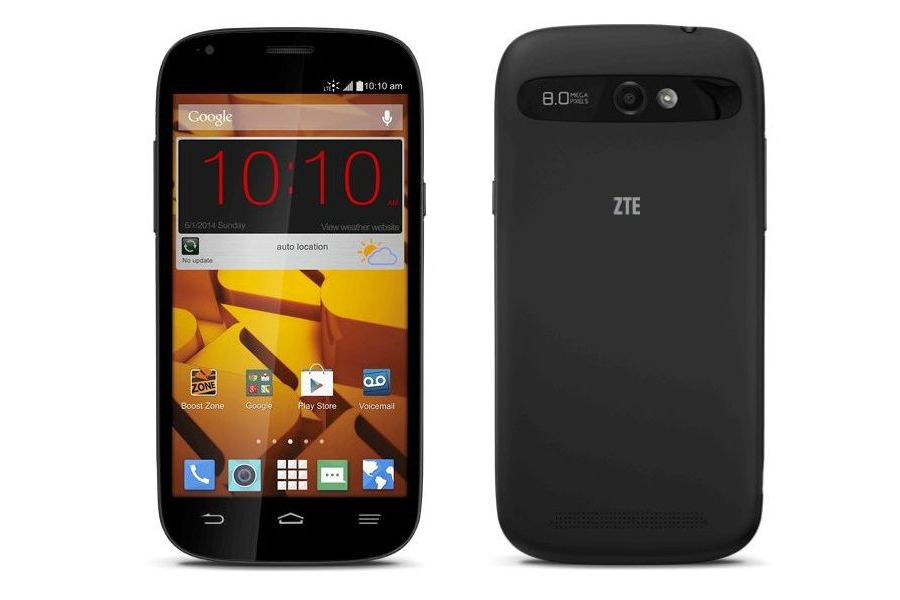 boost zte mobile phone how to open