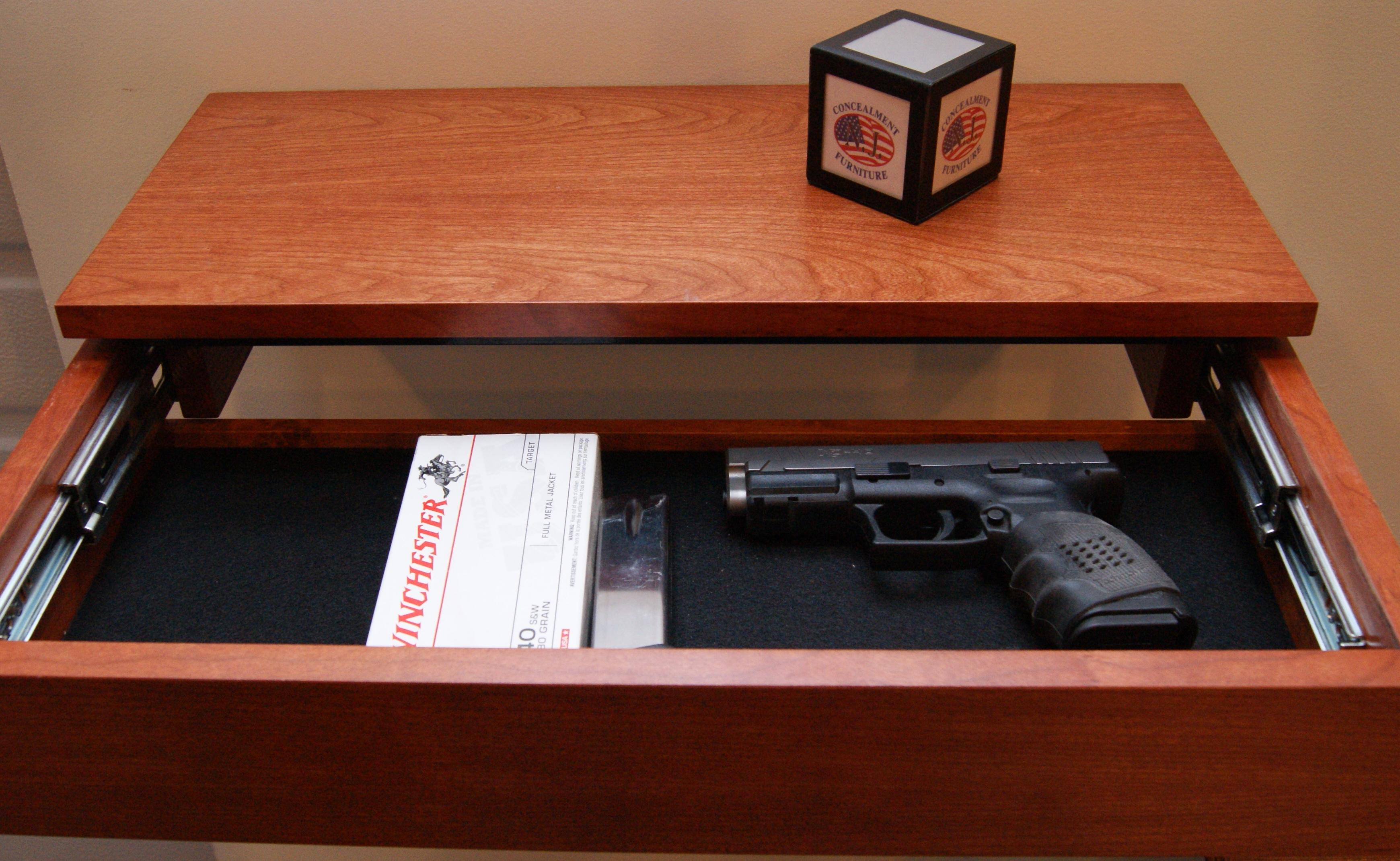 Stash Your Gat In One Of These Gun Concealing Furniture