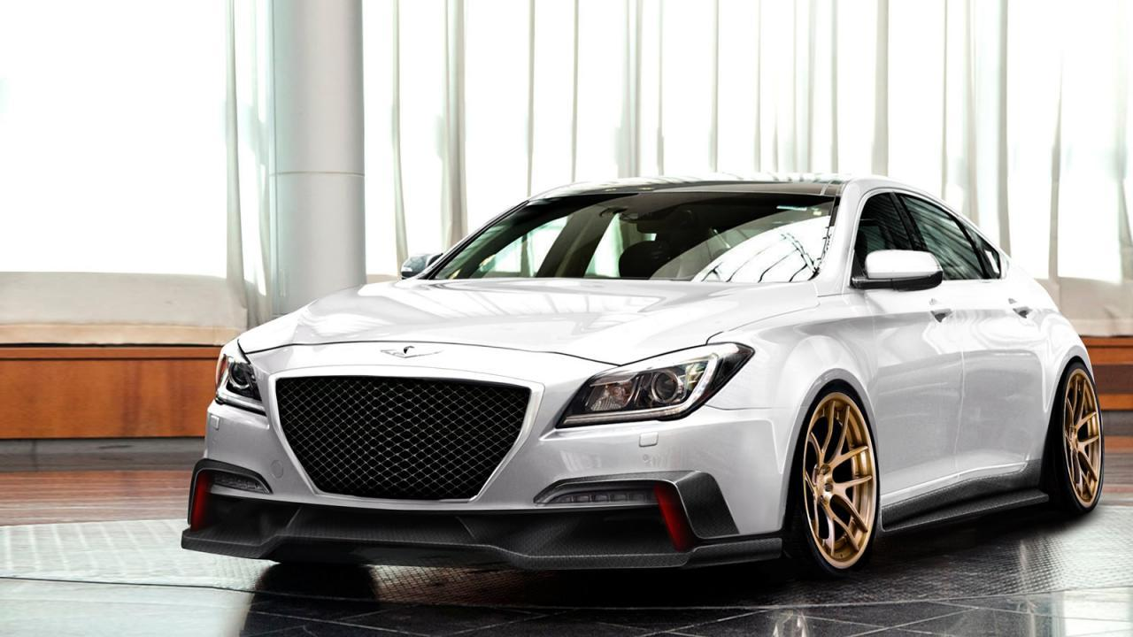 2014 Hyundai Genesis AR550 SEMA | Pictures and specs ...