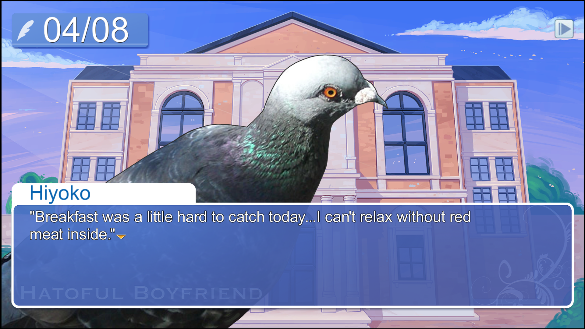 pigeon dating I tried the game in which you seduce pigeons and it even when it comes to pigeon dating it i was hitting on my pigeon maths teacher who has a.