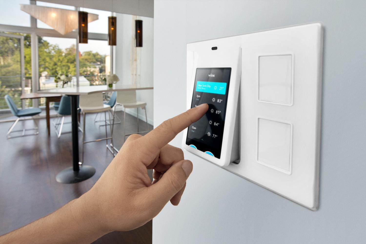 Wink releases relay a smart home control panel digital for Smart home plan