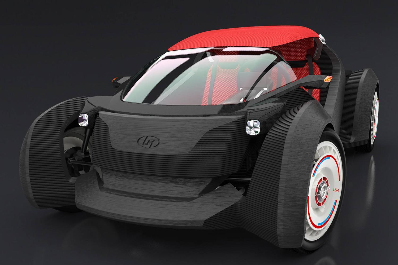 local motors 3d prints a car at the 2015 detroit auto show. Black Bedroom Furniture Sets. Home Design Ideas