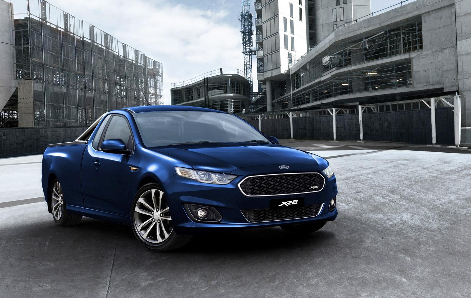 Ford Australia Details Last Ever Falcon Ute Digital Trends