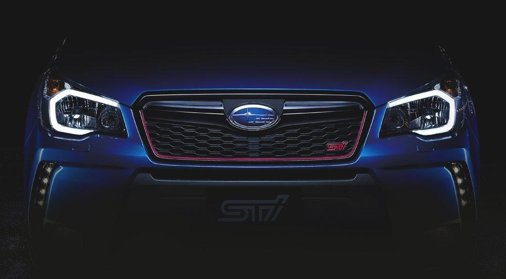 Subaru Forester STI teased in new pictures | Digital Trends