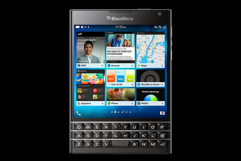 Выход blackberry passport 2
