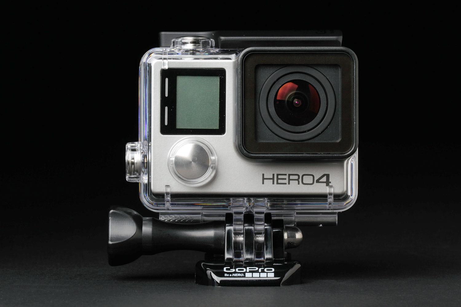 gopro adds support for periscope live broadcasting hero silver front full