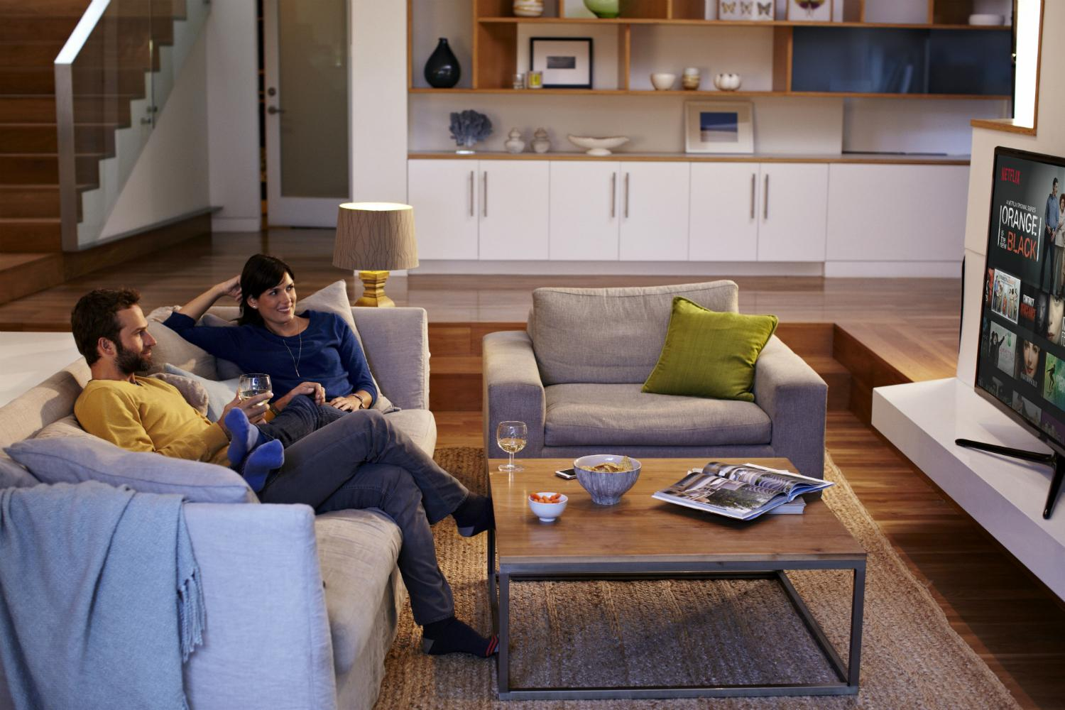 Decorating Ideas > French Service Provider Orange Puts Netflix In Its Settop  ~ 163211_Living Room Ideas Young Couples