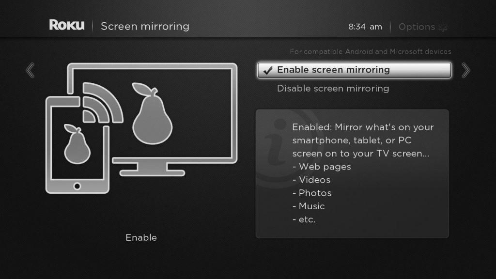 Roku Rolls Out Full Screen Mirroring For Android And