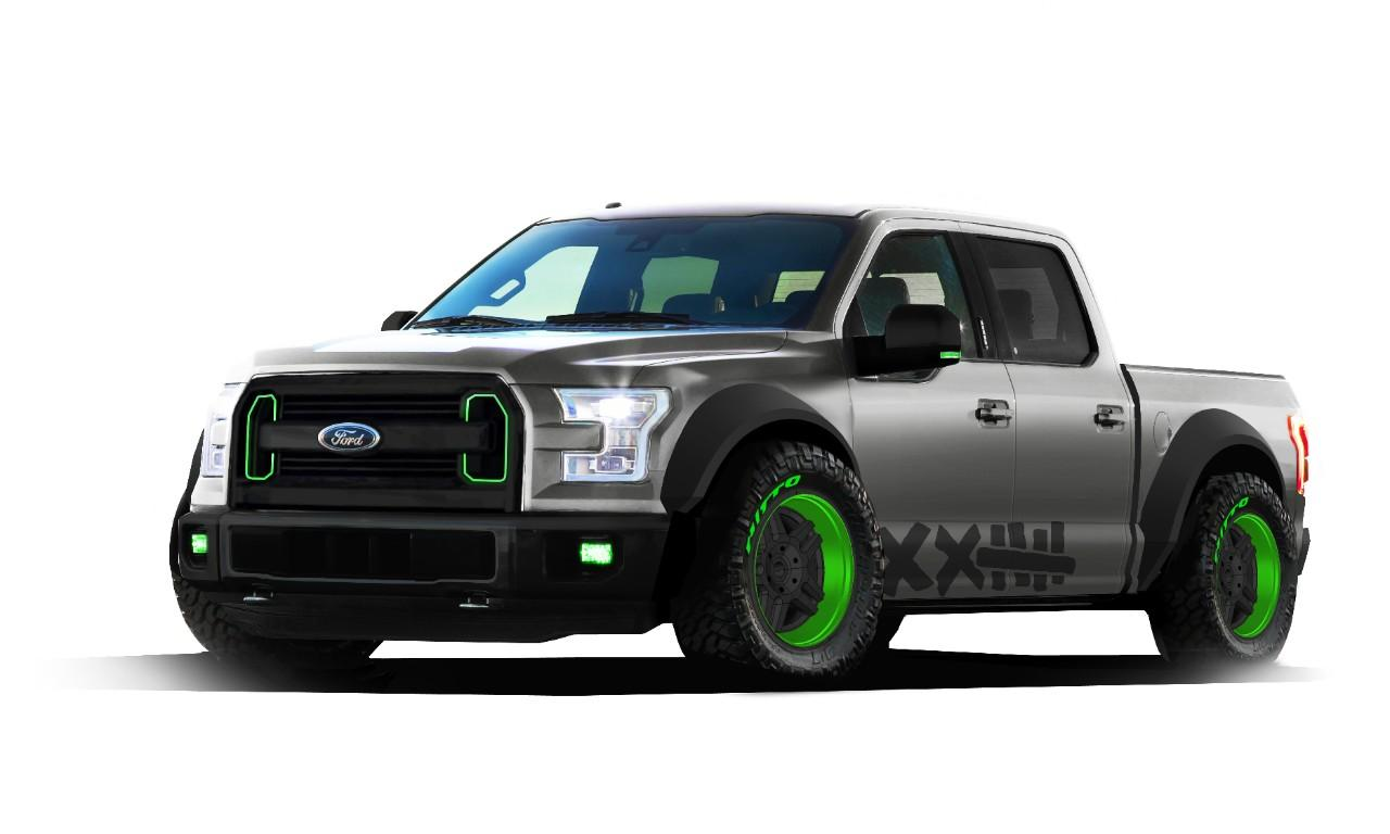 Could Ford's 2015 F-150 SEMA big-tired off-roader win 5th straight