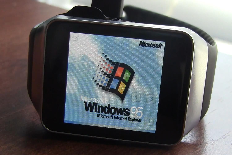 Hacker Installs, Runs Windows 95, Doom on a Smartwatch ...