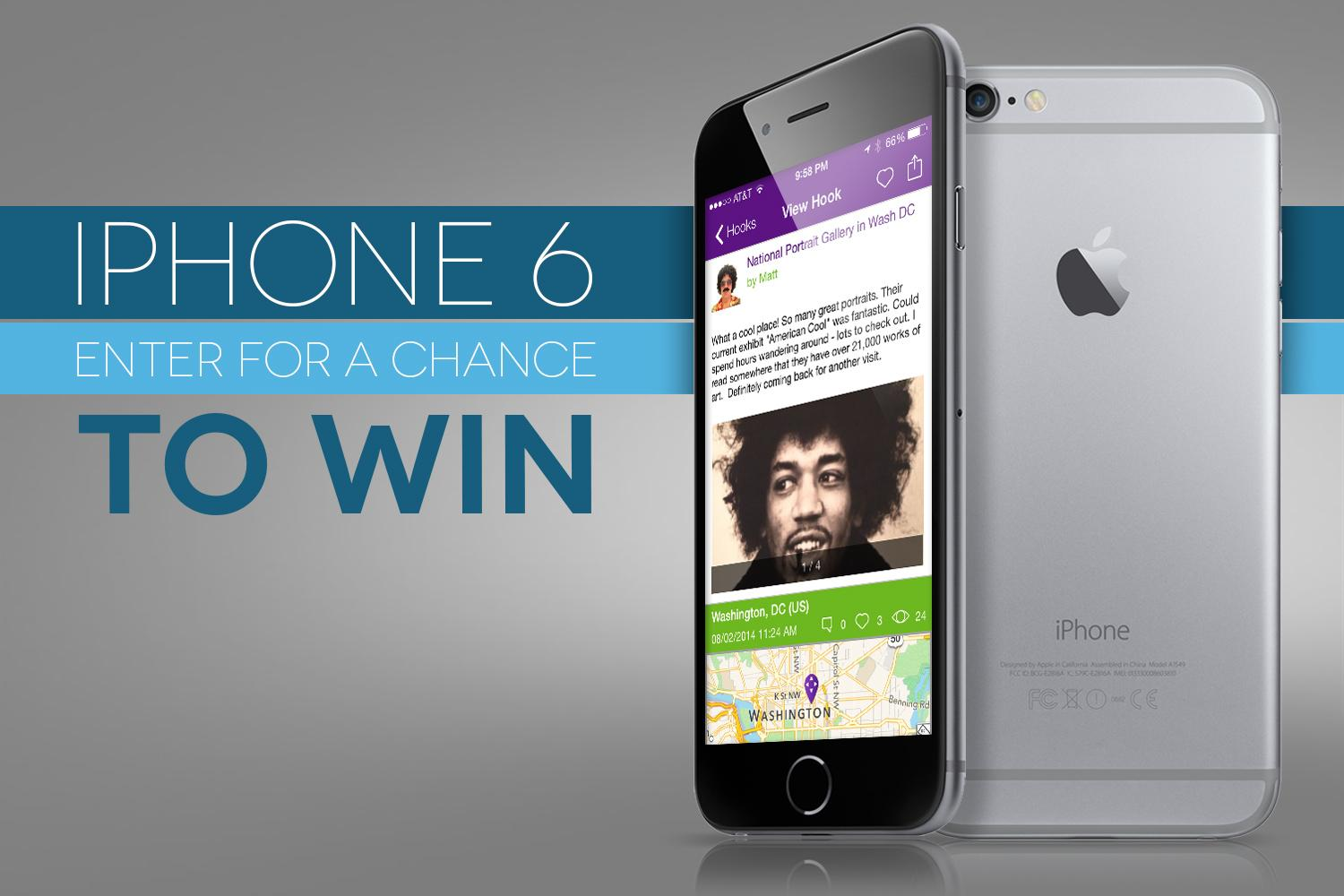 win an iphone 6 plus