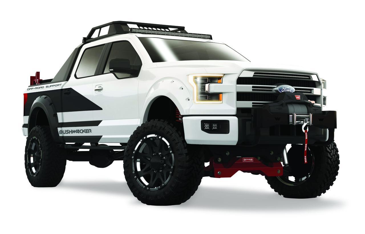 Bushwacker Ford F-150 | Official specs and pictures SEMA ...
