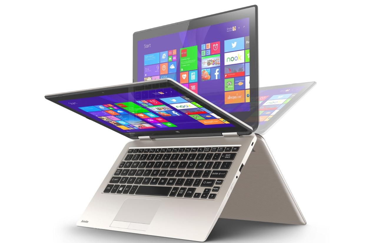 Toshiba's low-cost Radius 11 convertible bends over backwards to