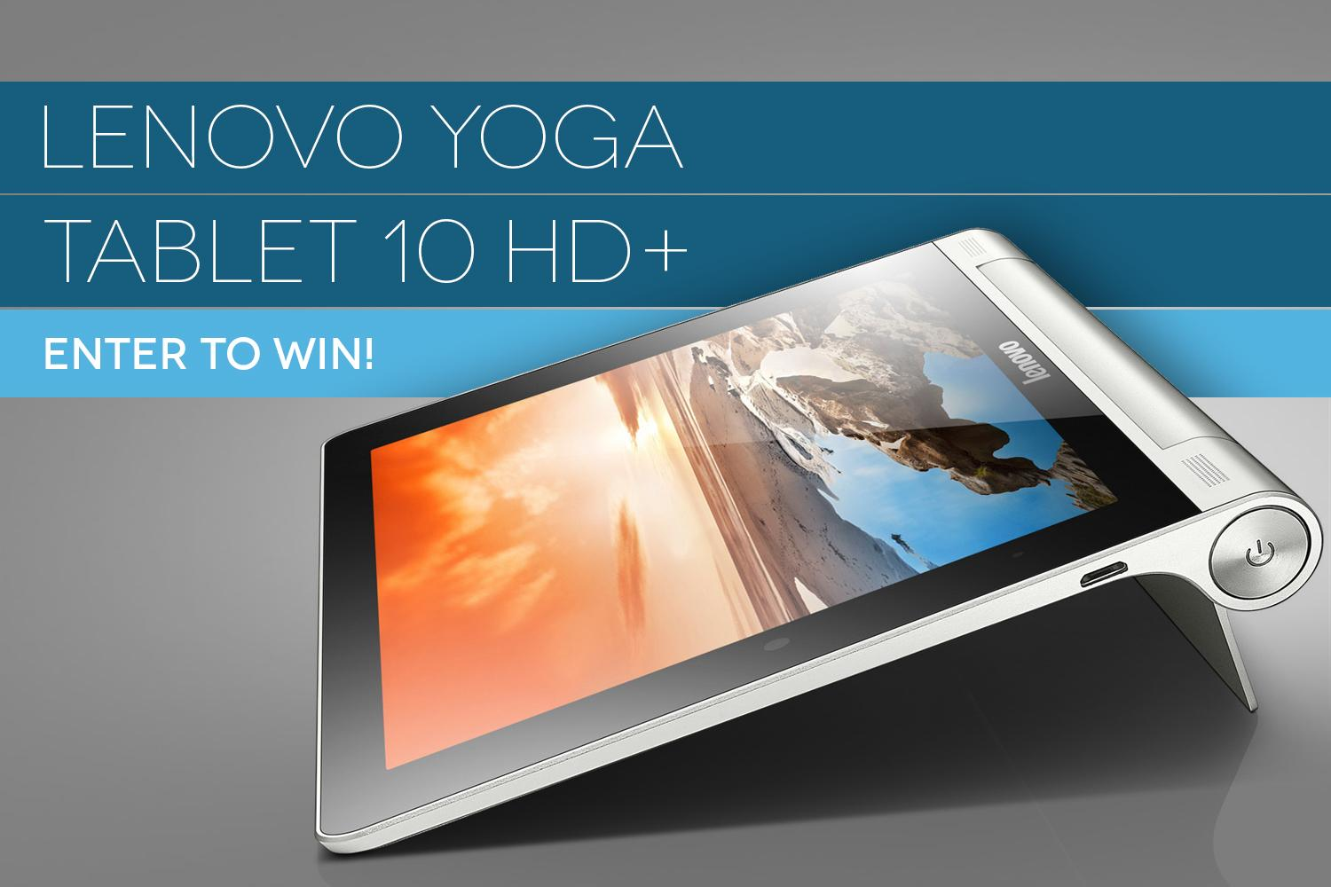 Dt giveaway: win the incredible, bendable lenovo yoga tablet 10 hd