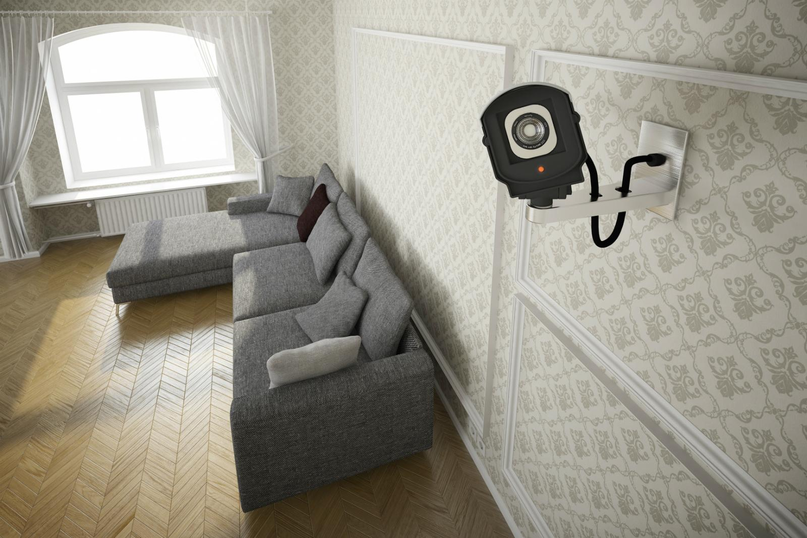 Change default passwords to keep home security cameras for House alarm with camera
