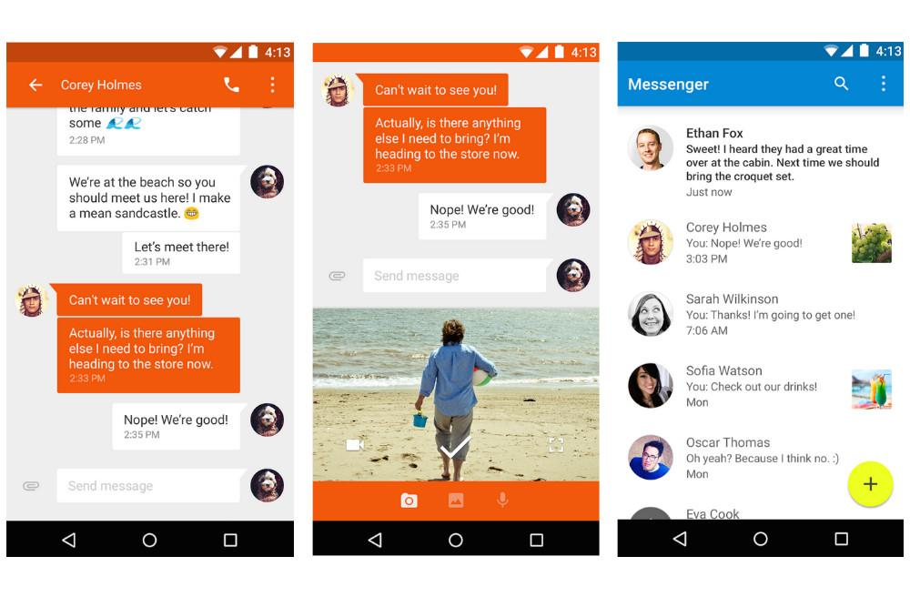 Google S New Messenger App Lands In Play Store Digital