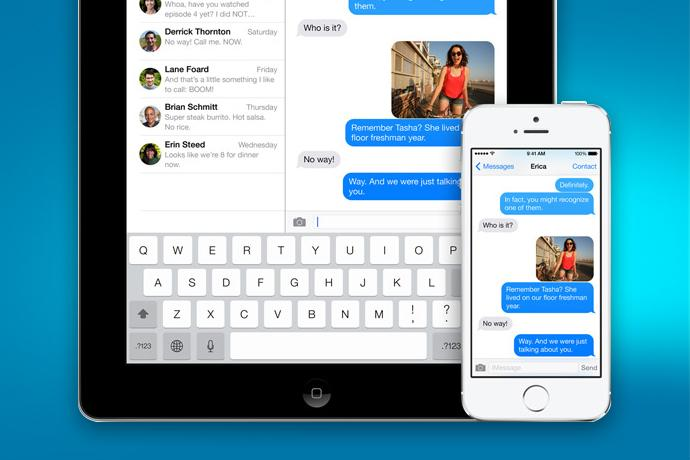 how to turn on imessage on iphone