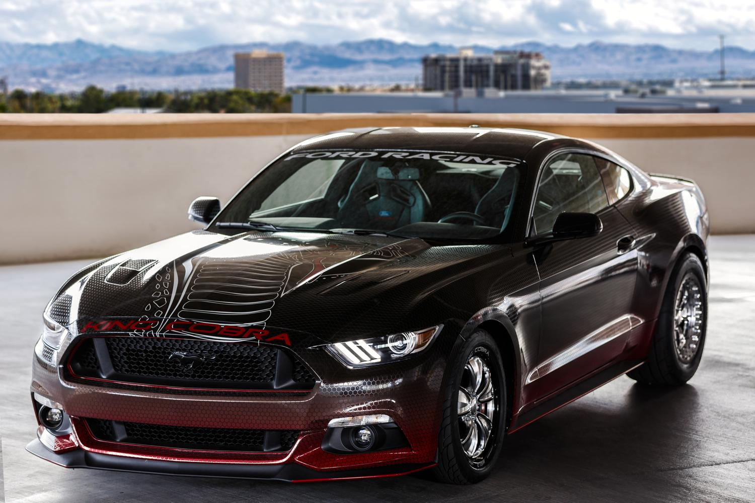 joke, Ford's new Mustang King Cobra bites hard with over 600 hp