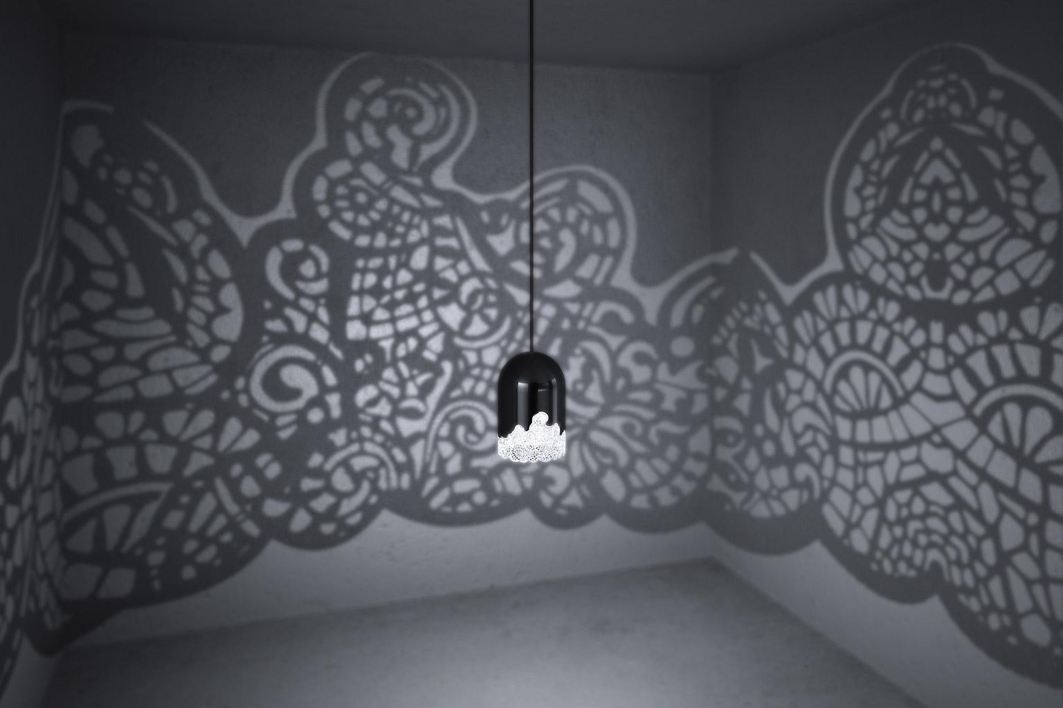 Shadow Lamps 3d Printed Lacelamps Cast Wild Shadow Patterns Onto Your Walls