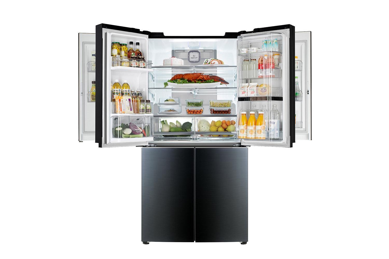 lg unveils mega capacity door in door fridge digital trends. Black Bedroom Furniture Sets. Home Design Ideas