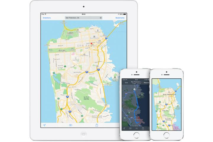 Apple Maps Cars Hit The Road To Capture Street Viewstyle Images - Us road map for ipad