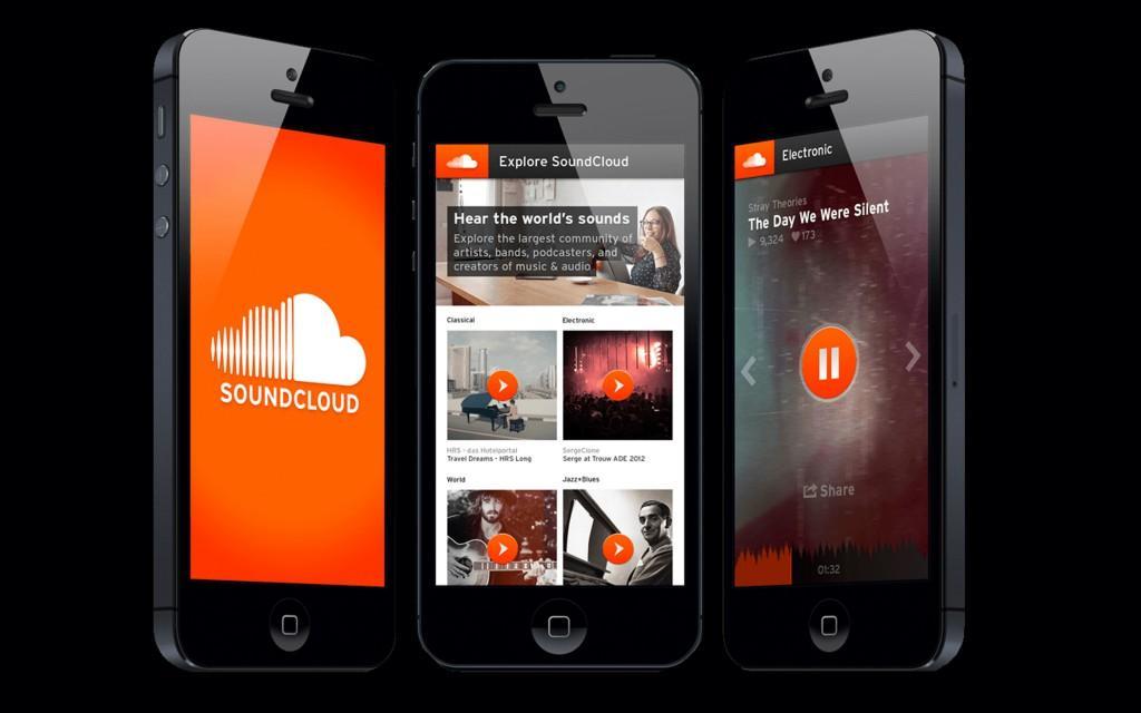 soundcloud on iphone