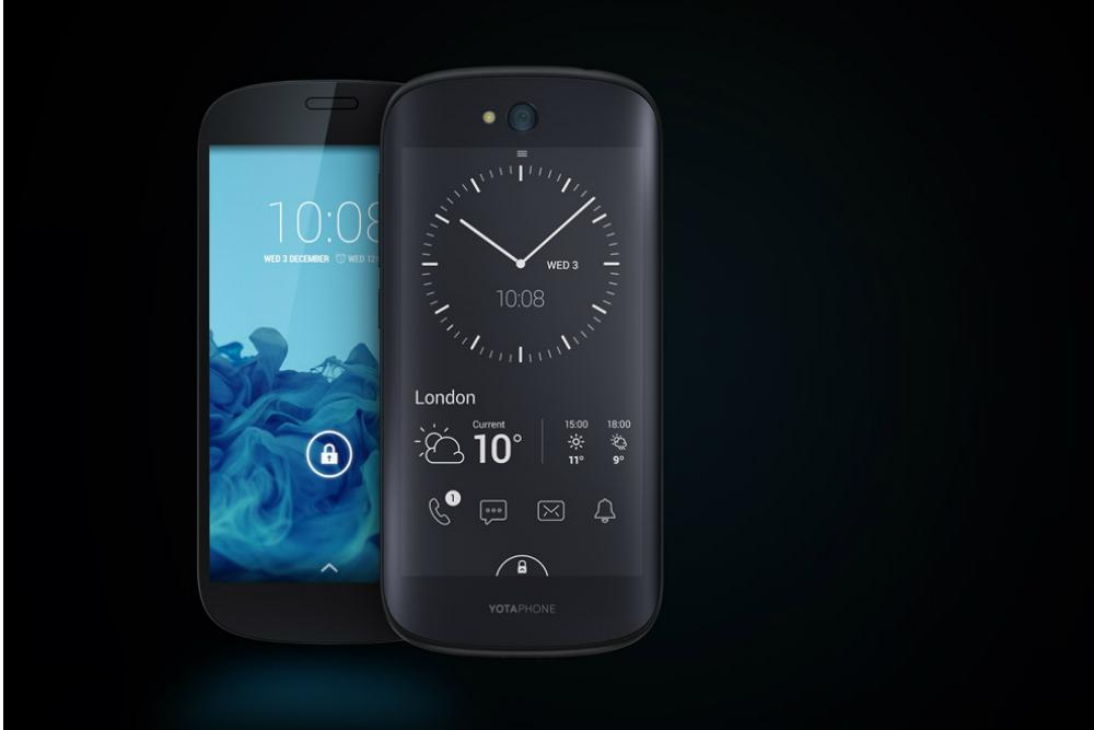 The two-screened YotaPhone 2 is finally coming to America!