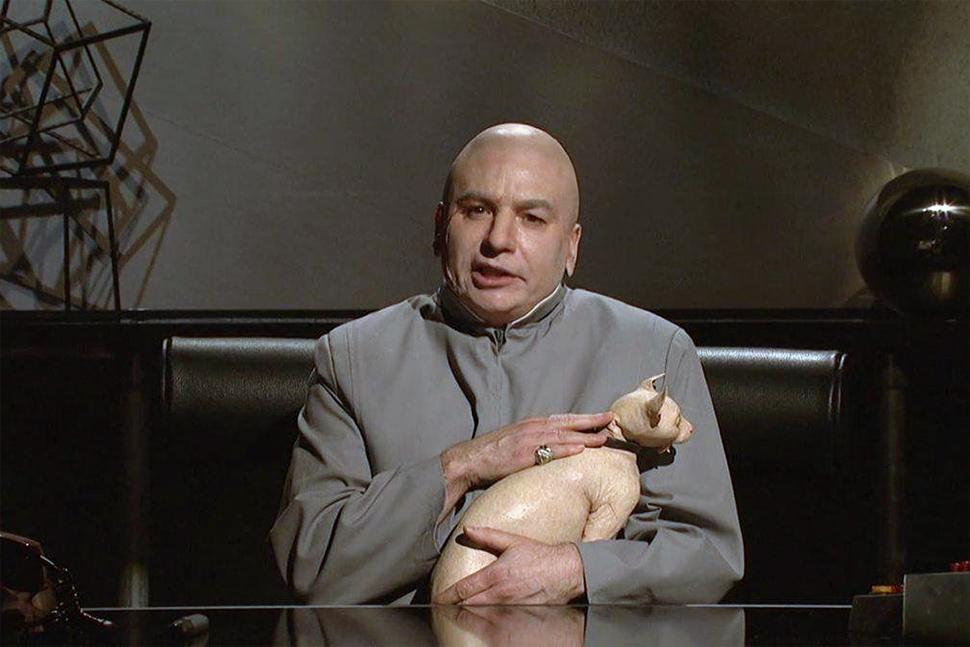 Dr Evil Asks Sony And North Korea To Stop Giving Evil A