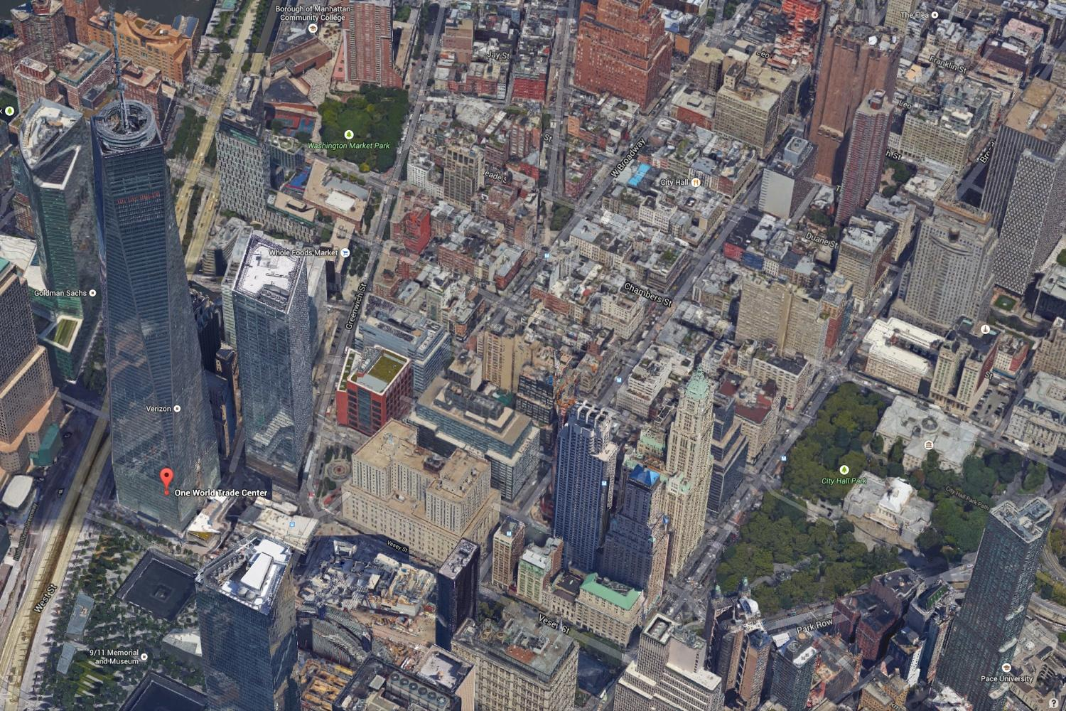 Google Applies New D Imagery To NYC San Francisco Maps Digital - Nyc map google earth