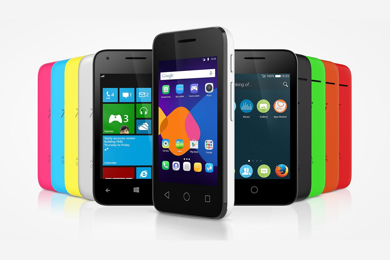 alcatel onetouch pixi 3 phones give you a choice of os digital trends. Black Bedroom Furniture Sets. Home Design Ideas