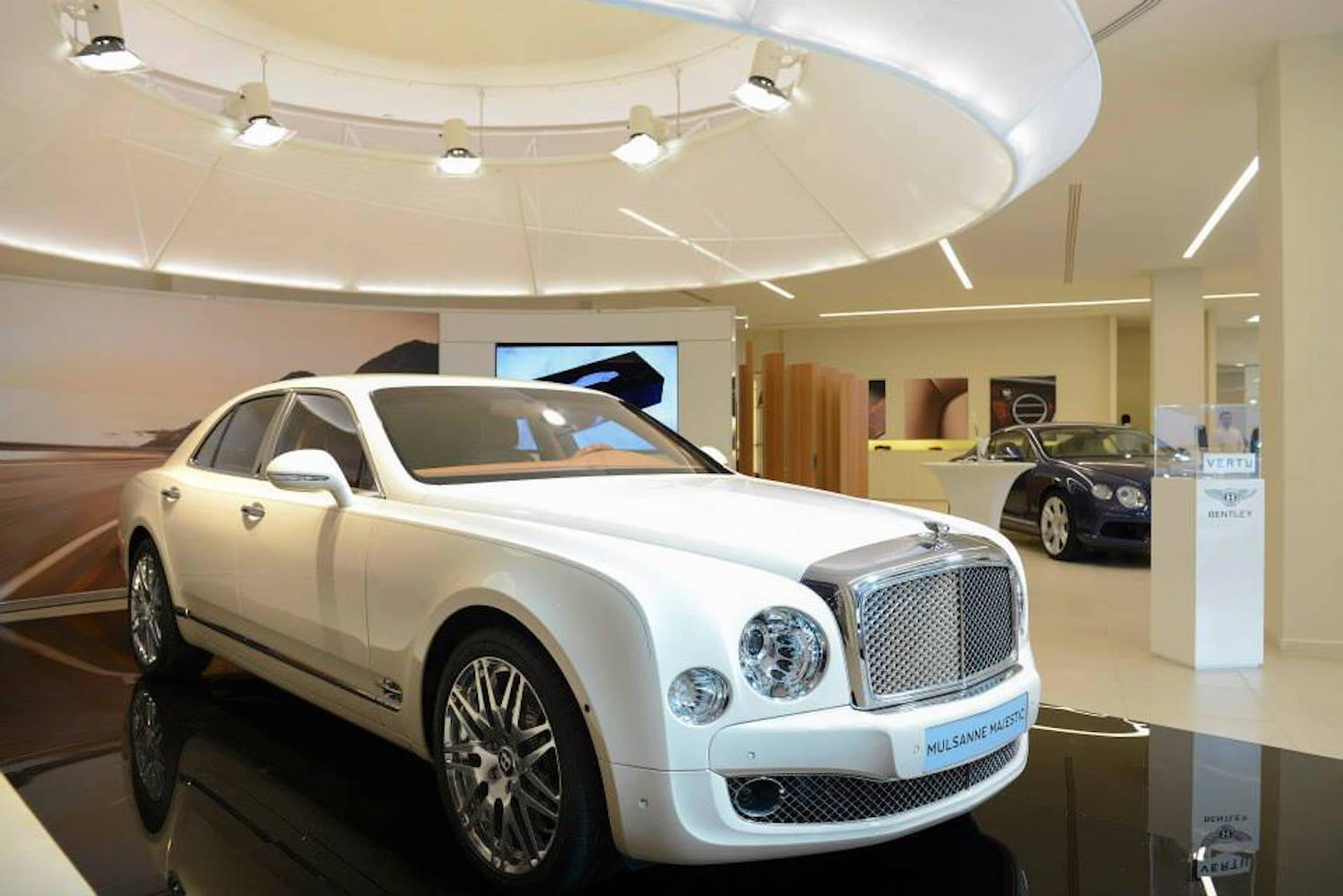 Bentley Mulsanne Majestic Launches In Qatar Digital Trends