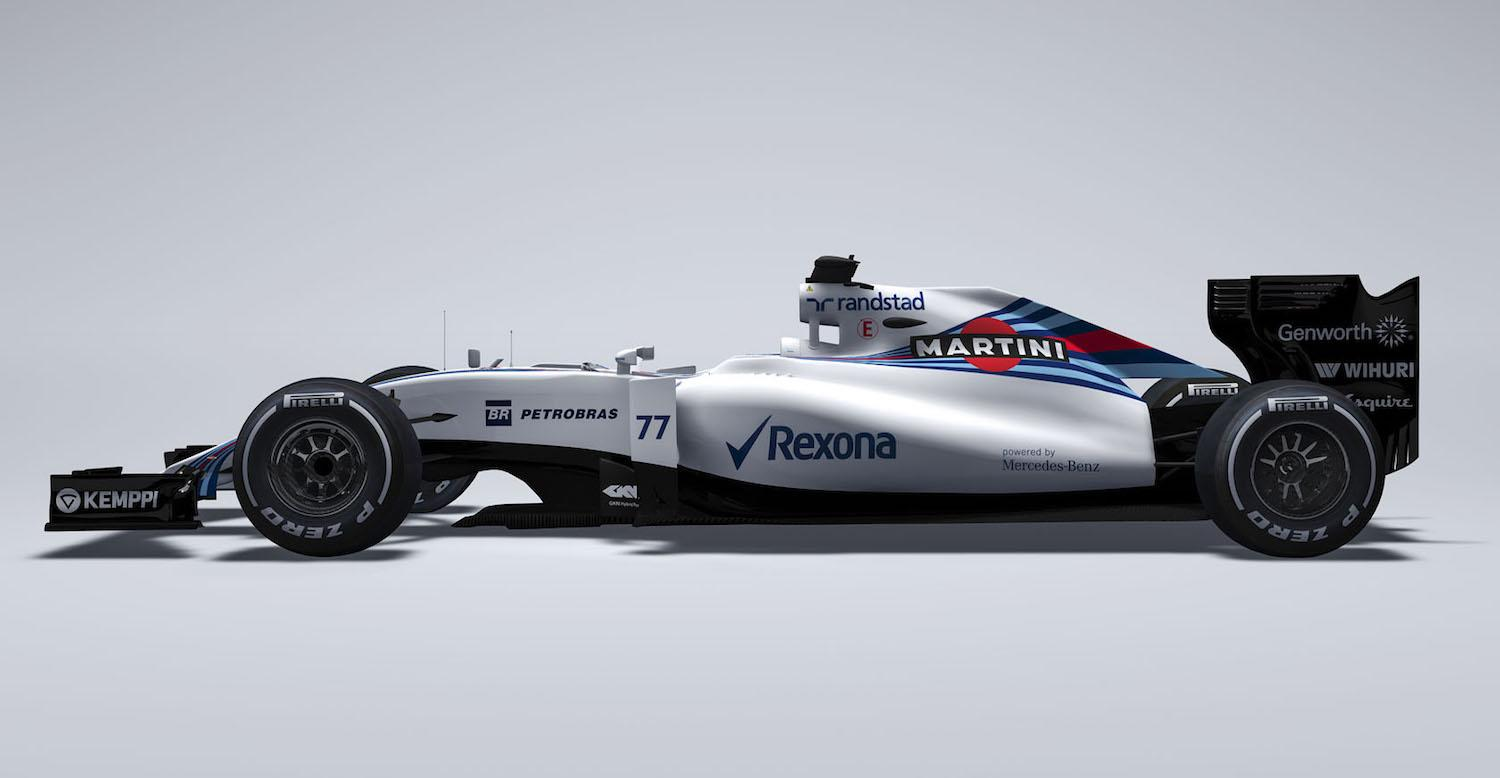 Williams Martini Racing Reveals The Mercedes Powered Fw37